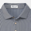 Peter Millar -  Mens FORMAL STRIPE STRIPE POLO -  NAVY