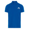 J.LINDEBERG MEN'S - Tour Tech Reg TX Big Bridge Polo - WORK BLUE