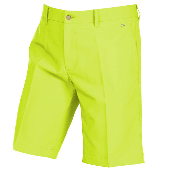 J.L Eloy Micro Stretch Shorts - Lime