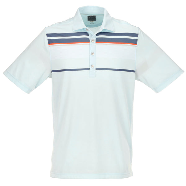 Greg Norman Engineered Stripe Polo