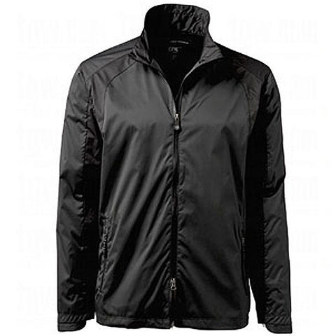 Greg Norman Epic Ultra Light Rain and Wind Jacket - Black