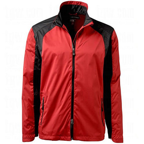 Greg Norman Epic Ultra Light Rain and Wind Jacket - Cardinal