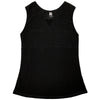 Womens Catwalk Front2Back Sleeveless Golf Top - Black