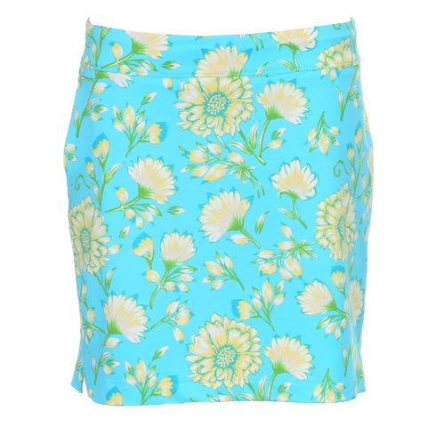 Greg Norman Ladies Floral Print Knit Skort