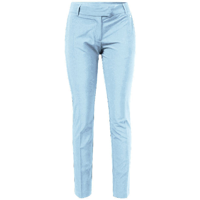 J.L Freja Micro Stretch Pants Clear Blue - Ladies