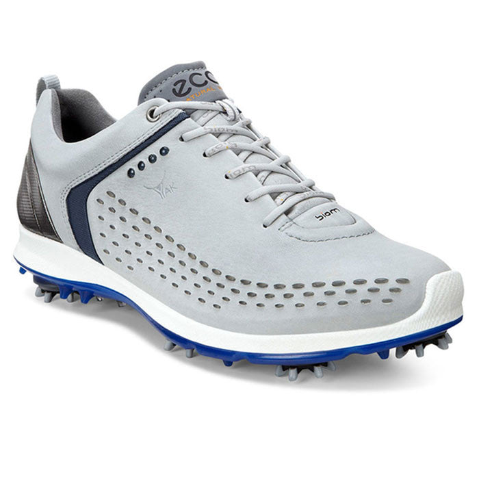 ECCO Mens BIOM G2 - CONCRETE/ROYAL BLUE