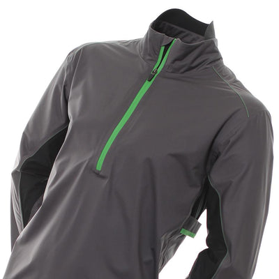 Galvin Green Mens Aden Gore-Tex C-KNIT™ Waterproof Golf Jacket - GREY/GREEN