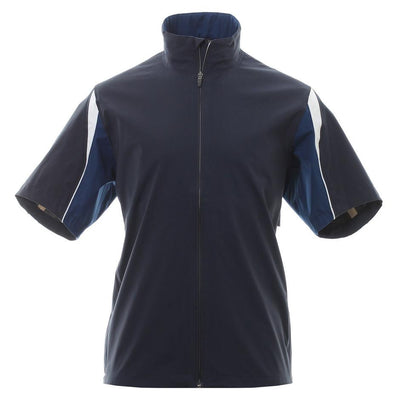 Galvin Green Mens Ali Paclite Gore-Tex Waterproof Short Sleeve Jacket - NAVY/WHITE