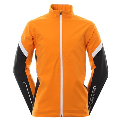 Galvin Green Mens Allen Gore-Tex Waterproof Golf Jacket - ORANGE