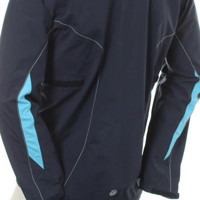 Galvin Green Mens ANGELO Paclite Gore-Tex Waterproof Jacket - NAVY/RIVER/SNOW