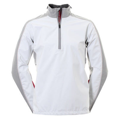 Galvin Green Mens AYERS Gore-Tex Waterproof Pullover - WHITE / STEEL / BAROLO