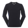 Galvin Green Mens CODY 100% Merino Wool Sweater - NAVY