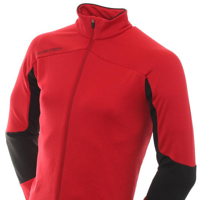 Galvin Green Mens DALE Insula Golf Jacket - RED/BLACK