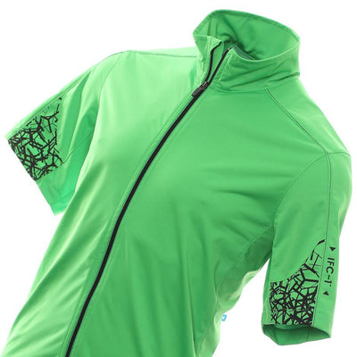 Galvin Green Mens Lars Interface-1 Windproof Jacket - FORE GREEN /BLACK