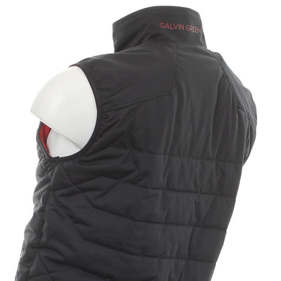 Galvin Green Mens Lawson Interface-1 Primaloft Body Warmer - BLACK / RED
