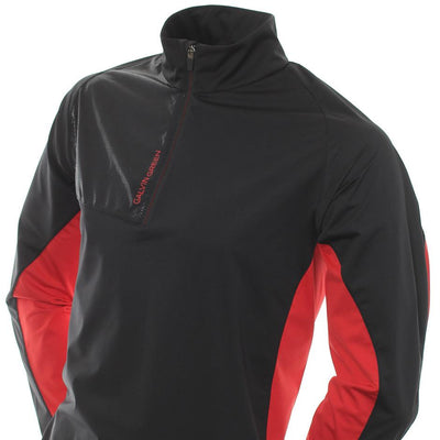 Galvin Green Mens LINCOLN Interface-1 Golf Jacket - BLACK / RED