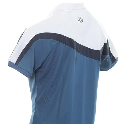 Galvin Green Mens MAGNUM VENTIL8™ PLUS Polo - ENSIGN BLUE / WHITE /NAVY