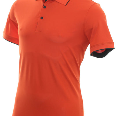 Galvin Green Mens MARTY TOUR VENTIL8™ PLUS Polo - Rusty Orange