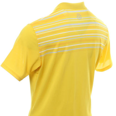 Galvin Green Mens MELWIN VENTIL8™ PLUS Polo - LEMON CHROME