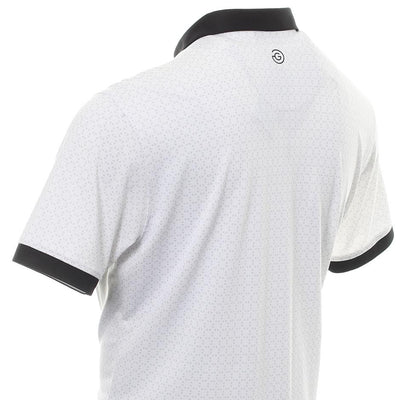 Galvin Green Mens MONTE VENTIL8™ PLUS Polo - WHITE/BLACK