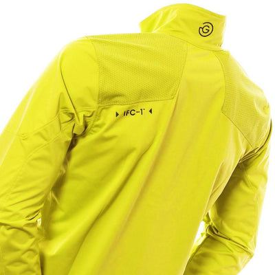 Galvin Green Mens Lance Interface-1 Golf Jacket - LEMONADE
