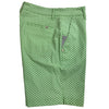 Colmar Women's Golf Shorts - Mint Green/White Pattern