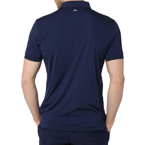J.L Hunter Reg Fieldsensor 2.0 Polo - Navy/Purple