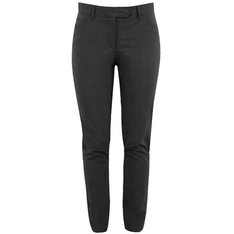 J.L Jasmine Micro Stretch Pants Black - Ladies