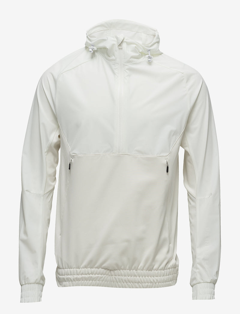 J Lindeberg Men's Jeff Jacket Tech Mid Layer - WHITE