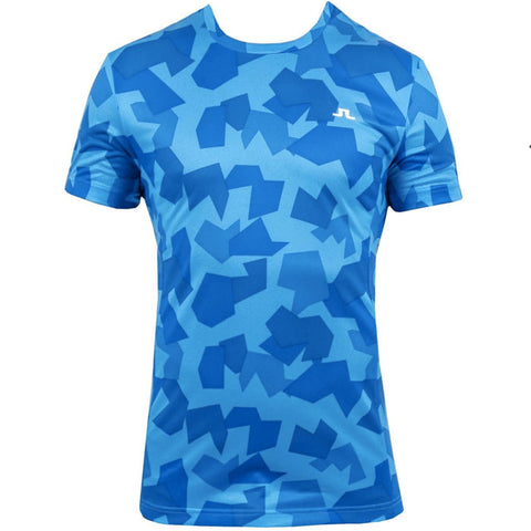 J.L FS Tee - Blue Camo -sz Medium