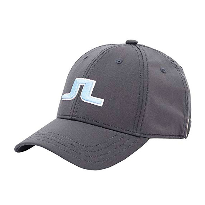 J.LINDEBERG Angus Tech Stretch Cap - Dark Grey