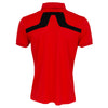 J Lindeberg Mens - KV Reg TX Jersey - Racing Red