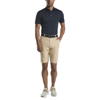 G/FORE MENS ESSENTIAL PIQUE POLO- TWILIGHT - SZ M
