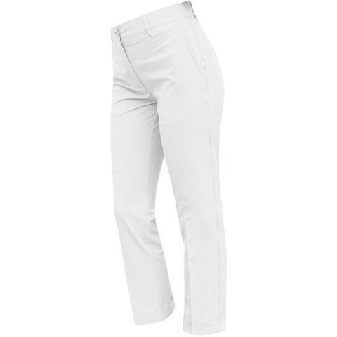 J.L Kajsa Micro Stretch Pants White - Ladies