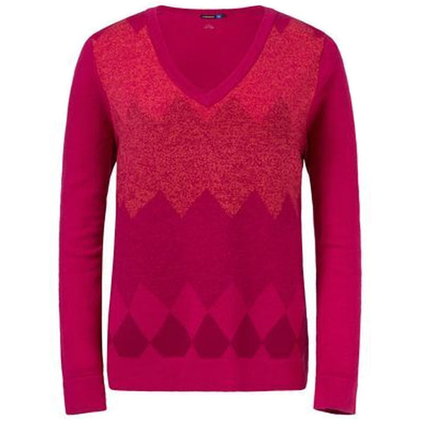 J.L Kimberly Light Merino Knit Pink Intense - Ladies