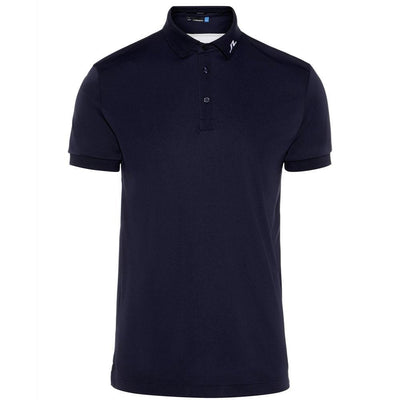 J.LINDEBERG Mens - KV REG FIT TX JERSEY PLUS - JL NAVY
