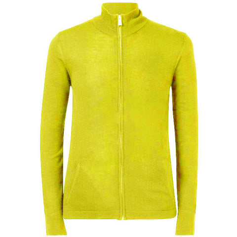 J.L Laurent AC Merino - Lime sz- Medium