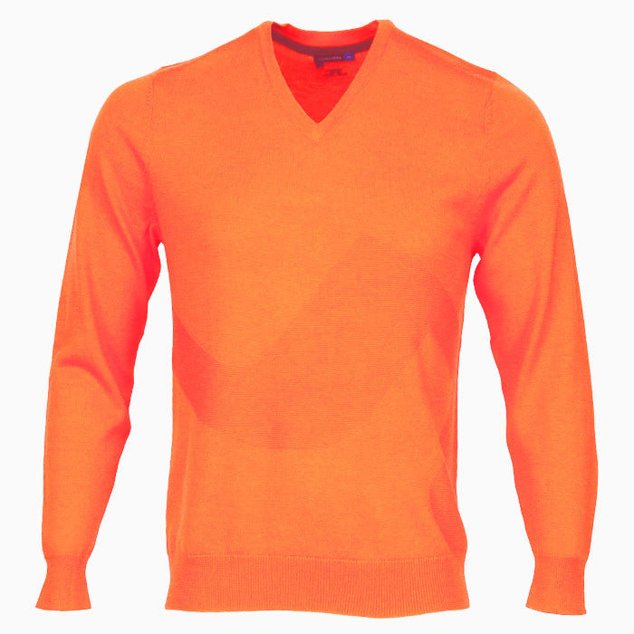 J.L LG Bridge Sweater - Racing Orange