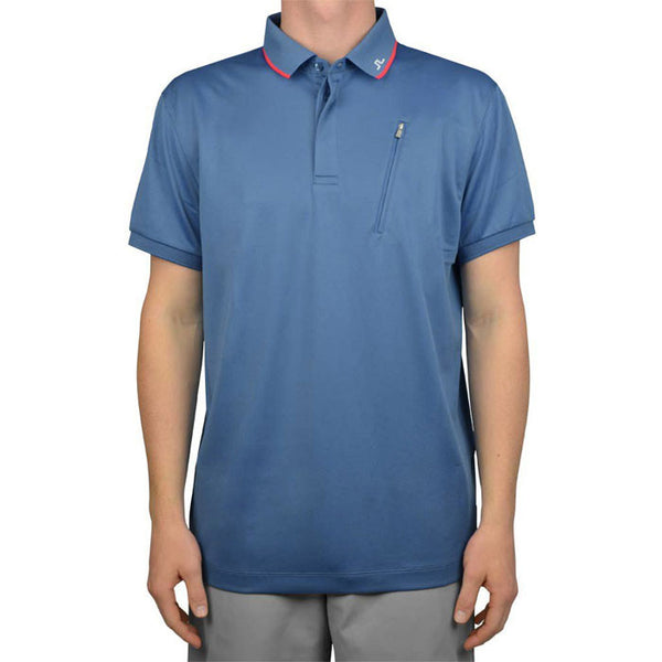 J Lindeberg Men's - Elijah Reg Fieldsensor 2.0 Polo Blue Dust