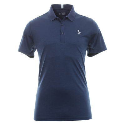 Original Penguin - MENS THREE STROKES GOLF POLO - BLACK IRIS