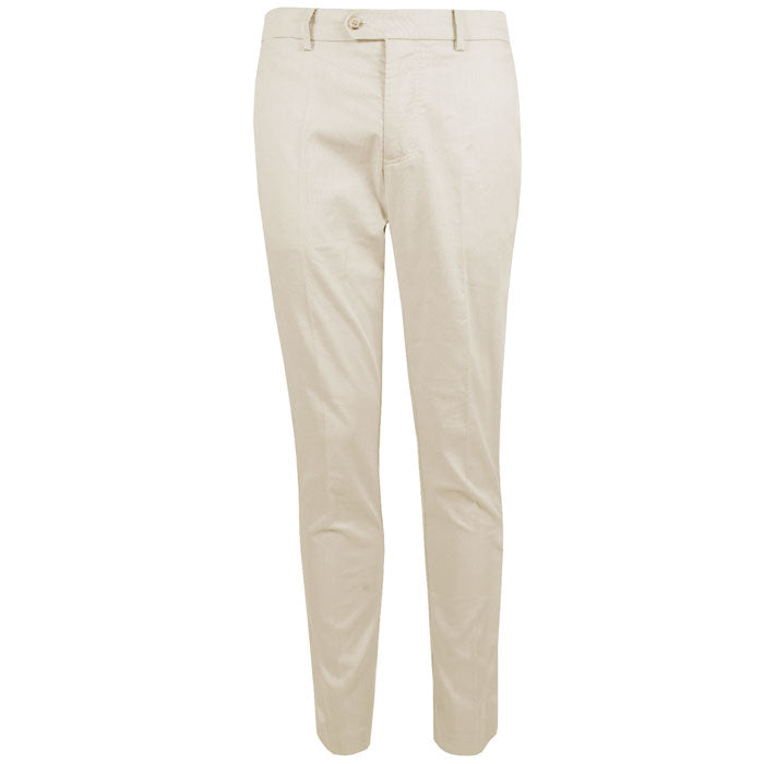 J.L Oskar Tight Fit Subtle Cotton - Beige