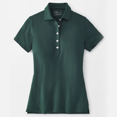 Peter Millar Women's Perfect Fit Performance Short-Sleeve Polo - WILLOW - sz SMALL