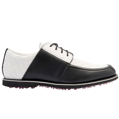 G/FORE WOMENS QUILTED GALLIVANTER GOLF SHOES - ONYX
