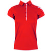Galvin Green Womens Maryn VENTIL8™ PLUS Polo - LIP GLOSS RED