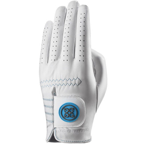 G-Fore Rocky Blue Carbretta Leather Glove MENS