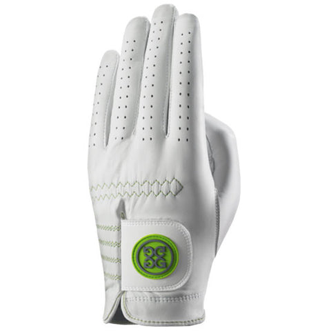 G-Fore Rocky Green Luxe Carbretta Leather Glove WOMENS