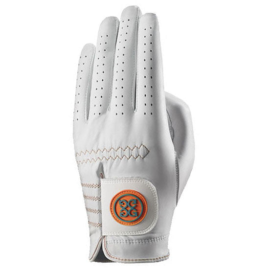 G-Fore Rocky Orange Luxe Carbretta Leather Glove WOMENS
