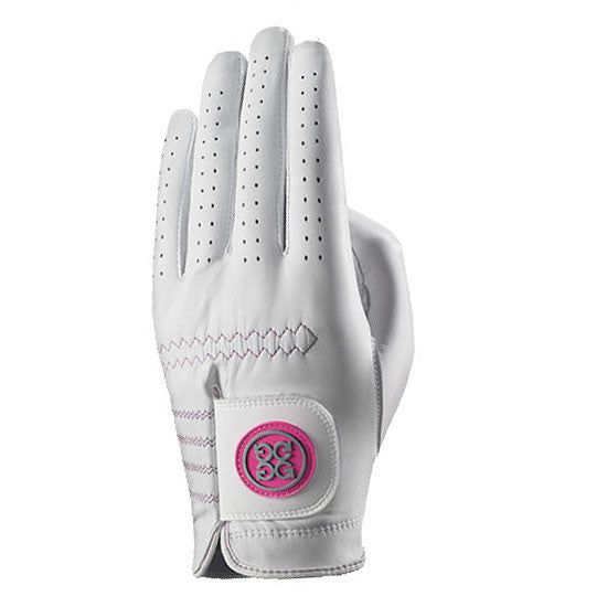 G-Fore Rocky Pink Carbretta Leather Glove WOMENS