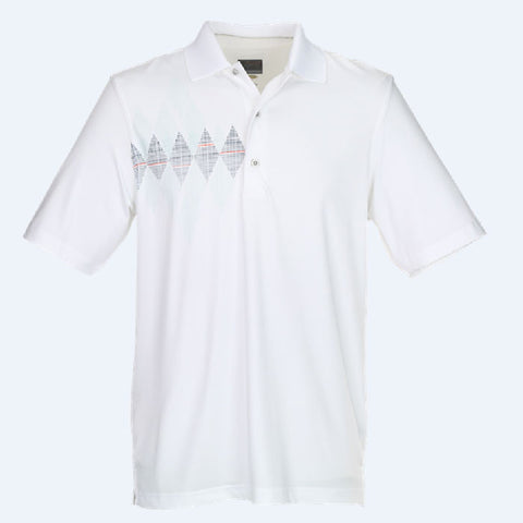 Greg Norman Screen Print Polo