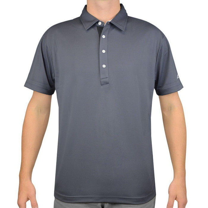 Sligo BENN Mens Polo - Twilight Grey at GolfAnything.ca